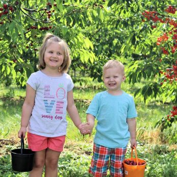 Love watching your children grow up in the orchards!  Thank you!