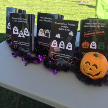 Children Author, Eric VanRaepenbusch, is a regular at our Apple Harvest Festivals.  Stop by and enjoy!