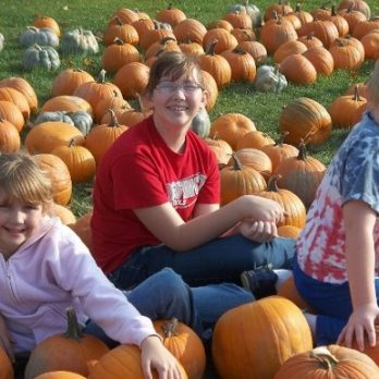 "Monroe's Orchard is a great place to capture your children ""Making a Memory""!"
